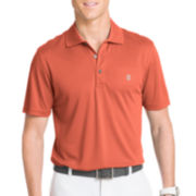 IZOD® Short-Sleeve Golf Grid Polo