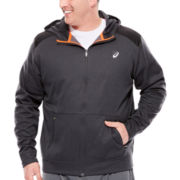Asics® Full Zip Fleece Lined Jacket - Big & Tall