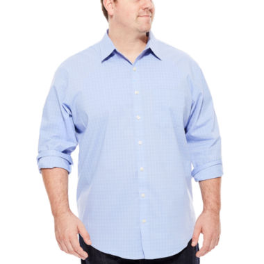 jcpenney.com | Van Heusen Long-Sleeve Stretch Non-Iron Travel Shirt - Big & Tall