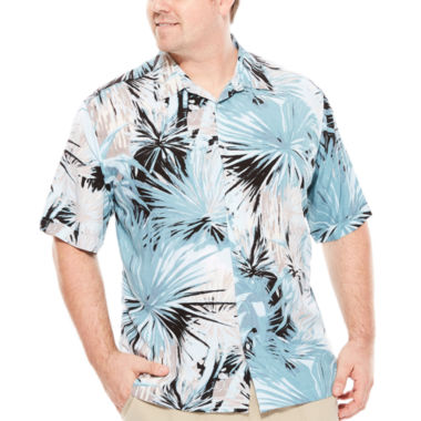jcpenney.com | Havanera™ Short-Sleeve Tropical Print Shirt - Big & Tall