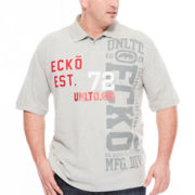 Ecko Unltd.® 72 Short-Sleeve Polo Shirt - Big & Tall