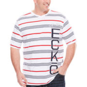 Ecko Unltd.® Short-Sleeve V-Neck Tee - Big & Tall