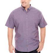 Van Heusen® Easy-Care Short-Sleeve Woven Shirt - Big & Tall