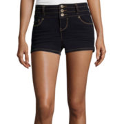 Blue Spice High Waist Denim Shorts