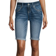 Ariya™ Juniors Curvy Low Rise Bermuda Shorts - Juniors