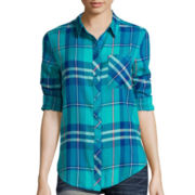 Arizona Boyfriend Plaid Shirt