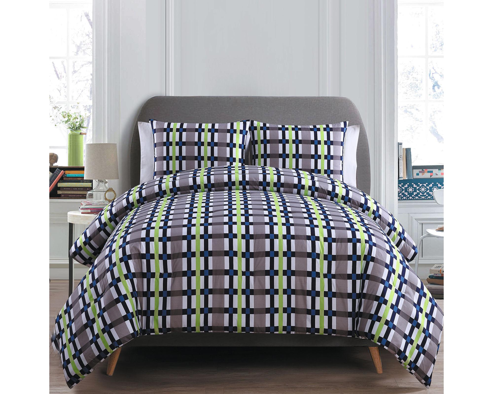 Victoria Classics Evan Reversible Comforter Set