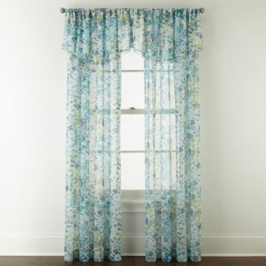 jcpenney.com | Liz Claiborne® Sabra Textured Sheer Window Treatments