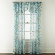 Liz Claiborne® Sabra Textured Sheer Window Treatments