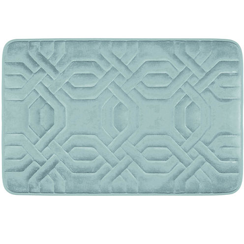 Bounce Comfort Chain Ring Memory Foam Bath Mat Collection