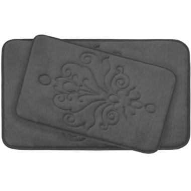 jcpenney.com | Bounce Comfort Reve Memory Foam 2-pc. Bath Mat Set