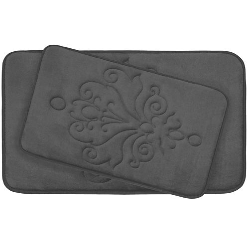 Bounce Comfort Reve Memory Foam 2-pc. Bath Mat Set