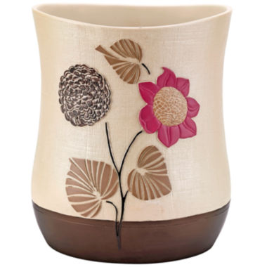 jcpenney.com | Popular Bath Lillian Floral Beige Wastebasket