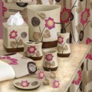 Popular Bath Lillian Floral Beige Bath Collection