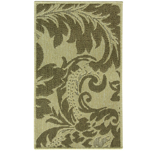 Bacova Imperial Brown Indoor Rectangular Rug