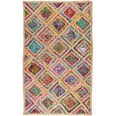 jcpenney.com | Better Trends Diamond Braided Rectangular Rug