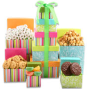 Alder Creek Springtime Decadence Tower Gift Set