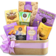 Alder Creek Happy Easter Wishes Wicker Basket