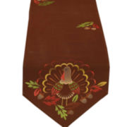 Turkey Embroidered Table Runner