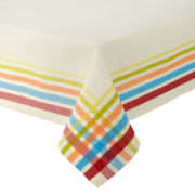 Fiesta® Plaid Tablecloth