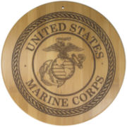 Totally Bamboo® Marines Serving Board