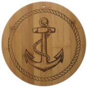 Totally Bamboo® Anchor Cutting Board