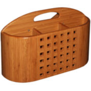 Totally Bamboo® Eco Dish Rack Utensil Holder