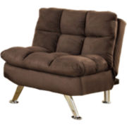 Christina Convertible Faux Leather Chair