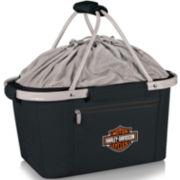 Picnic Time® Harley Davidson® Metro Basket Cooler Tote