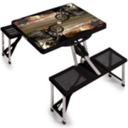 Picnic Time® Harley Davidson® Fold-Out Picnic Table
