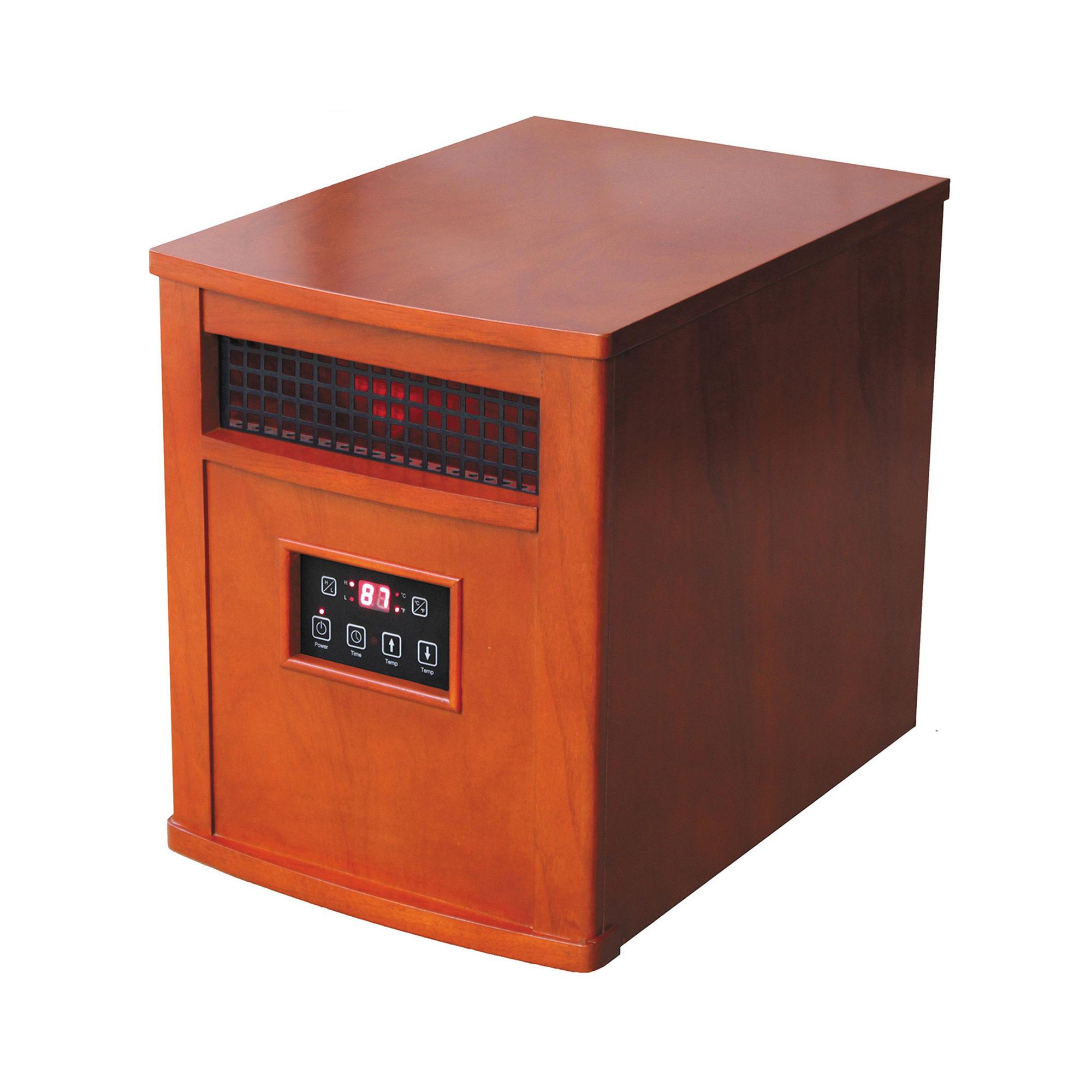 American Comfort Infrared Quartz Heater 5200 Btu 1500 Watts Oak Finish  #AA4221