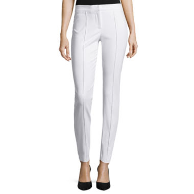 jcpenney.com | nicole by Nicole Miller® Slim Fit Ankle Pants