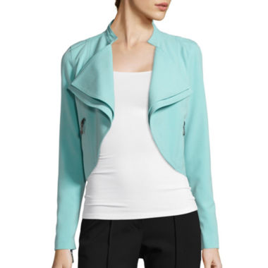 jcpenney.com | nicole by Nicole Miller® Draped Jacket