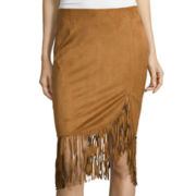 i jeans by Buffalo Fringe Rubia Wrap Skirt