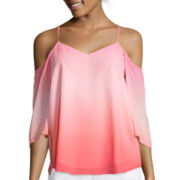 a.n.a® 3/4-Sleeve Cold-Shoulder Blouse