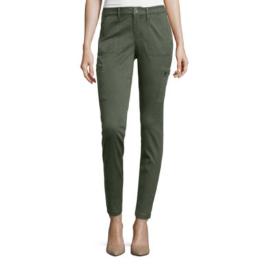 jcpenney.com | a.n.a® Skinny Cargo Ankle Pants- Petite