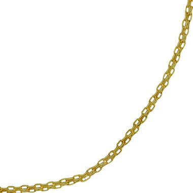 "jcpenney.com | 14K Gold 18"" Light Bismark Chain"