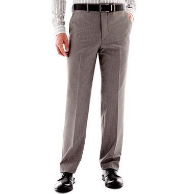 JF J Ferrar Slim Fit Flat Front Suit Pants