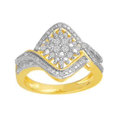 jcpenney.com | ⅓ CT. T.W. Diamond Cluster Ring
