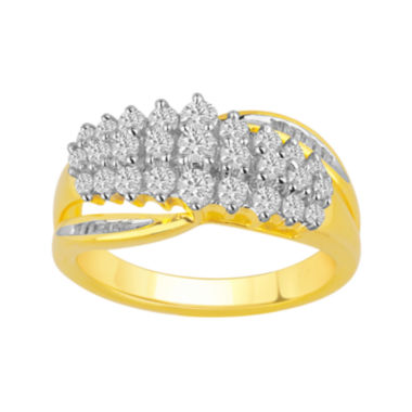 jcpenney.com | 1 CT. T.W. Diamond Waterfall Ring