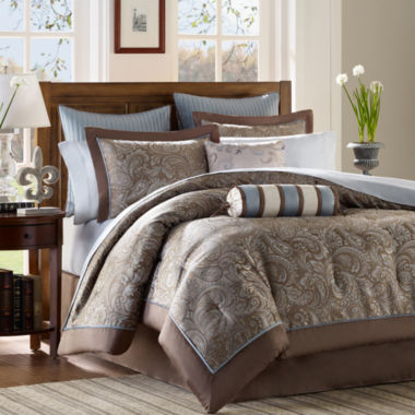 jcpenney.com | Madison Park Whitman 12-pc. Complete Bedding Set with Sheets