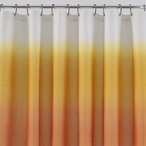 JCPenney Home™ Ribbed Ombré Shower Curtain