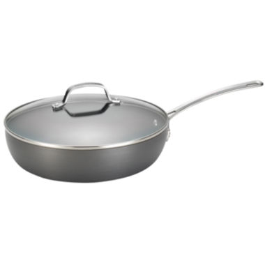 "jcpenney.com | Circulon Genesis 12"" Hard-Anodized Nonstick Covered Deep Skillet"