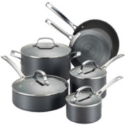 Circulon Genesis 10-pc. Hard-Anodized Nonstick Cookware Set