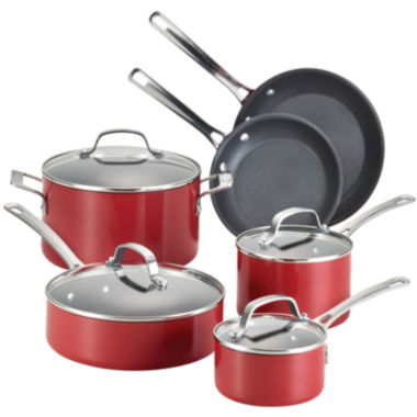 jcpenney.com | Circulon® Genesis 10-pc. Aluminum Nonstick Cookware Set