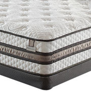 Serta® iSeries® Vantage Plush Mattress plus Box Spring