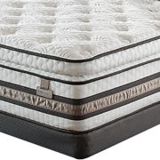 Serta® iSeries® Merit Super Pillow-Top Plush - Mattress + Box Spring