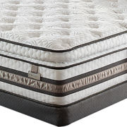 Serta® iSeries® Approval Super Pillow-Top Plush - Mattress + Box Spring