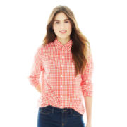Joe Fresh™ Long-Sleeve Gingham Check Shirt