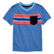 Arizona Striped Tee – Toddler Boys 2t-5t